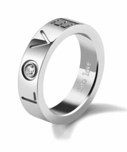 LOVE Couple Promise Rings