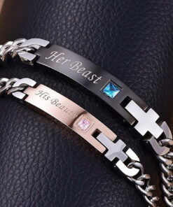 Relationship Bracelets, His and Hers Bracelets [Set of 2] - PrincePrincess