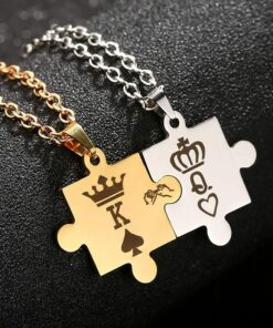 Her King His Queen Necklaces