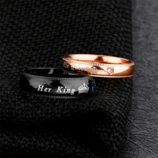 Her King His Queen Rings