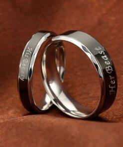 His Beauty Her Beast Rings
