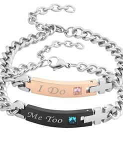 Valentines Day Gifts, I Do Me Too Bracelets