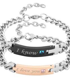 I Love You I Know Bracelets