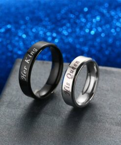 His Queen Her King Promise Rings