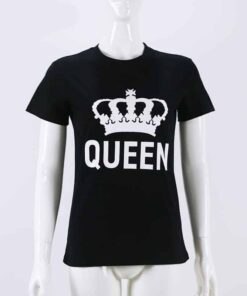 e486255ed8 King Queen Matching Couple Shirts - CoupleStar