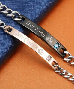 Personalized Name Bracelet With Birthstone